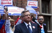 Sondaż: Większość Polaków niezadowolonych z prezydentury Komorowskiego