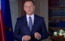Andrzej Duda chce drugiego referendum w dniu wyborów parlamentarnych. Złoży wniosek do Senatu [WIDEO]