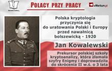Polacy przy pracy: Bitwa Warszawska i polscy kryptolodzy