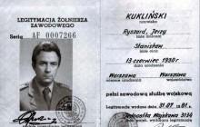 Apel o awans dla płk. Ryszarda Kuklińskiego