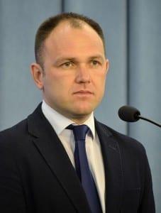 Tomasz Garbowski - poseł SLD, obserwator piłkarski i były sędzia. Fot.: Adrian Grycuk/commons.wikimedia.org