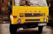 Żółty Star C-28 na XI Wołomińskim Zlocie Pojazdów Zabytkowych