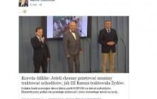 W internecie krąży fałszywy tekst o Korwinie. Jakubiak ofiarą trolli