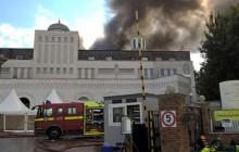 Płonie największy meczet w Europie Zachodniej