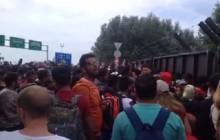 Starcia na granicy węgiersko-serbskiej przy przejściu w Röszke-Horgos