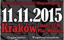 11 listopada ulicami Krakowa przejdzie Marsz Wolnej Polski