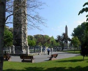 Fot.: Pozostałości po hipodromie w Konstantynopolu/Adam Carr/commons.wikimedia.org