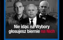 Petru straszy Kaczyńskim, Kukizem i Korwinem.