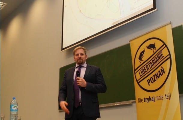 """Prezydent Liberlandu odwiedził Polskę. """"Żyj i pozwól żyć"""""""