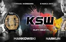 Ostatnia pula biletów na trybuny KSW 34 w Warszawie