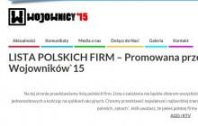 Kukiz'15 przedstawia listę polskich firm.