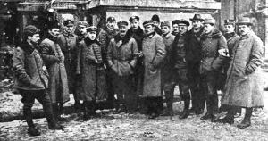 Naczelna Komenda Obrony Lwowa w 1918 roku.