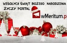 Wesołych Świąt Bożego Narodzenia 2015 życzy redakcja portalu wMeritum.pl