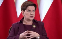 Beata Szydło: Nie zgodzę się na to, by przeciwko protestującym wyprowadzić policję
