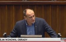 Kukiz oburzony na pracę Sejmu.