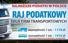 Biały Bór rajem podatkowym!  Chcą przyciągnąć do siebie firmy transportowe