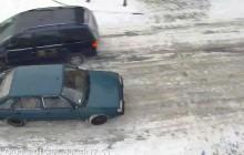 Drift Polonezem po ulicach Gniezna