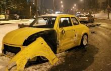 Wypadek prototypowej Syreny w Warszawie