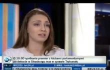 Kinga Gajewska (PO) vs. Elżbieta Borowska (Kukiz'15). Dyskusja o UE w studiu TVN24 [WIDEO]