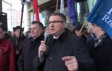 Wipler: Ani pan Schulz, ani pani Merkel, ani pan Juncker nie mają prawa decydować o tym, jak będziemy się rządzić w Polsce!