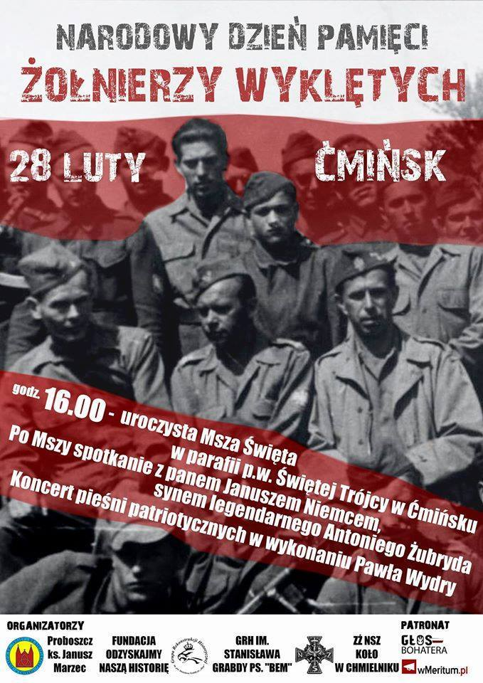 Plakat Ćmińsk