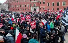 Międzynarodowa manifestacja przeciwko islamizacji Europy [RELACJA]