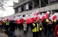 Podatek handlowy powodem protestów handlowców pod Sejmem