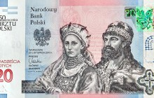 NBP: Banknot z Mieszkiem I i Dobrawą najlepszy na świecie!