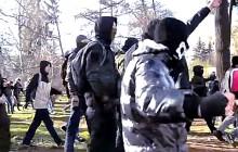 Wiec LGBT we Lwowie zakłócony przez bojówkarzy [WIDEO]