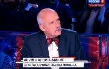 Janusz Korwin-Mikke w rosyjskiej telewizji: ZSRS zabił więcej Rosjan niż Hitler [WIDEO]