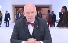 Janusz Korwin-Mikke rezygnuje z mandatu europosła. W PE zastąpi go Dobromir Sośnierz [WIDEO]