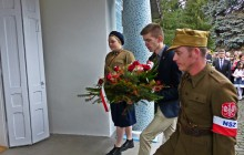 Chmielnik uczcił 63. rocznicę śmierci porucznika Grabdy [ZDJĘCIA]