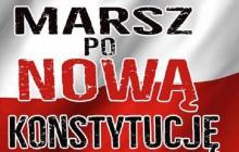 Kielce: 3 maja - Marsz po Nową Konstytucję