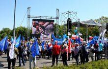 Manifestacja Komitetu Obrony Demokracji - Jesteśmy i będziemy w Europie [FOTORELACJA]