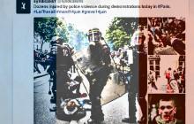 Strajki we Francji. Protestujący zaatakowali policję [WIDEO]