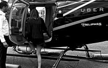 Uber to już nie tylko samochody - firma uruchamia połączenia helikopterami