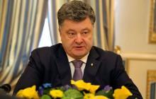 Petro Poroszenko złożył kwiaty pod pomnikiem pomordowanych na Wołyniu