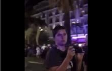 Dramatyczne nagranie z Nicei.