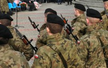 Pierwsi oficerowie Obrony Terytorialnej