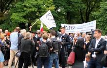 Czarny Protest - Manifestacja Komitetu Obrony Demokracji [FOTORELACJA]
