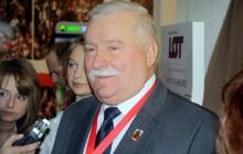 Awantura podczas wizyty Wałęsy w Słupsku. Okrzyki