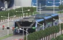 Autobus-tunel, czyli niesamowity wynalazek Chińczyków! [WIDEO]