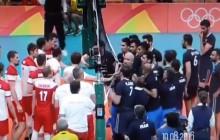 Awantura po meczu Polska-Iran na IO. Spięcie pod siatką [WIDEO]