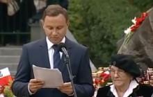 Uczestniczka Powstania Warszawskiego poprosiła o pomoc harcerzy... przyszedł prezydent. Niesamowite wideo!