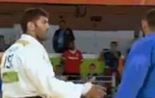 Brzydkie zachowanie na IO. Judoka z Egiptu nie podał ręki Izraelczykowi! [WIDEO]