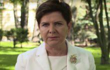 Premier Szydło zaprasza na pogrzeb