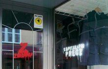 Partia Zmiana zdewastowała witrynę sklepu Red is Bad?