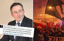 Wraca sprawa podpalenia budki pod ambasadą rosyjską. Sienkiewicz na celowniku?