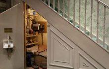 Dom z najsłynniejszą komórką pod schodami na sprzedaż