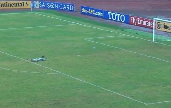 Komiczna sytuacja w meczu Uzbekistan-Korea Północna. Gola zdobył... bramkarz [WIDEO]